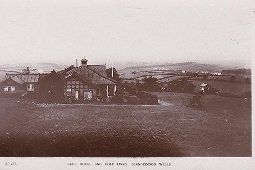 Llandrindod Wells G.C. Ref.966 C.1910-15