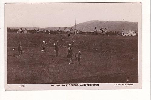 Auchterader Golf Course Ref.1459 C.pre1910