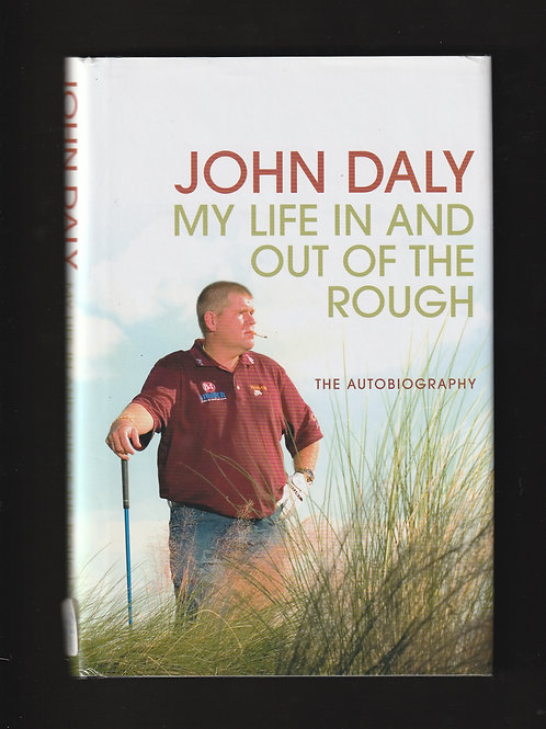 John Daly Signed Autobiography Ref. GB.954