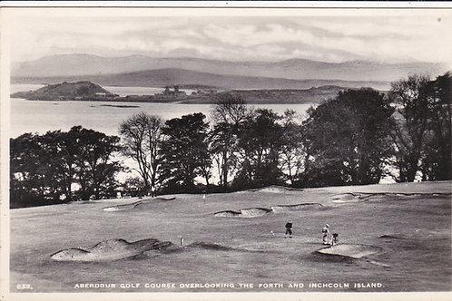 Aberdour Golf Links, Fife circa 1930's Ref 1216