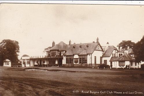SOLD>Ref.1138.Royal Burgess Golf Club  Ref 1138 C.1933