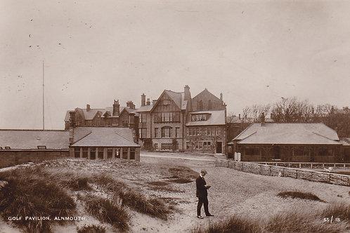 Alnmouth (Village) Golf Pavilion C.1905-10 Ref.173