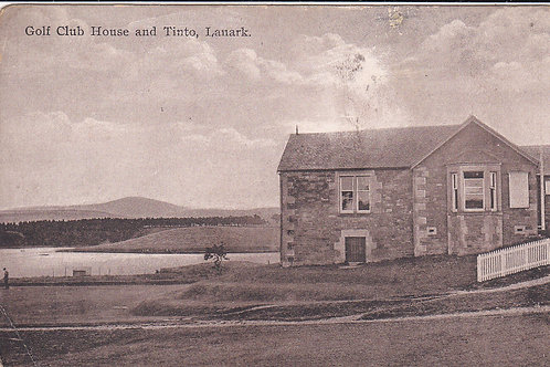 Lanark Golf Club House C.Ea.1900s Ref 558
