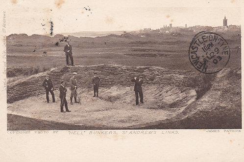 St.Andrews & Hell Bunker.Ref 541.  C.1902