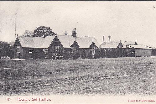 Royston Golf Pavilion Ref.1105 C.Pre 1914