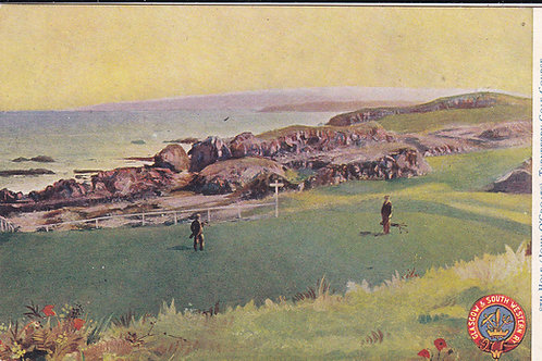 Turnberry Golf Course.Railway PC.Ref.525 C.1905-10