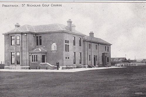 Preswick St Nicholas Golf House C.1904 Ref.495