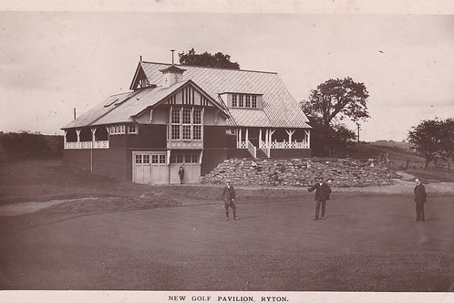 Ryton New Golf Pavilion  Ref.2022a C.1913
