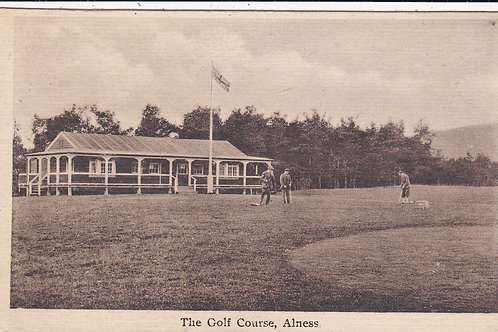 Alness Golf Pavilion & 1st Tee Ref.1475 C.1920s