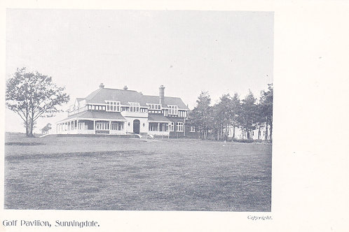 Sunningdale Golf Pavilion.Ref 678. C.Early 1900s