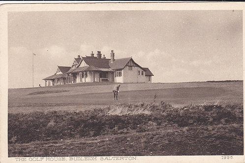 Budleigh Salterton Golf House Ref.1015 C.1900-14