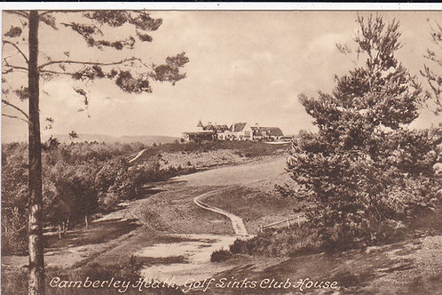 Camberley Heath Golf Links/Club House Ref.972 C.1919