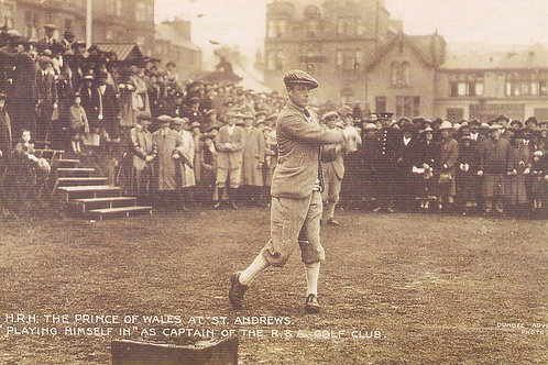 Prince of Wales(Edward) Capt of R&A Ref 376.C.198