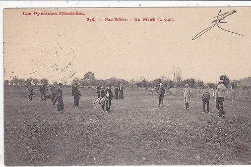 (Pau) Vardon v Braid Match. C.1907 Ref.1143
