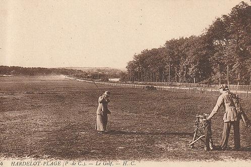 Hardelot Plage Le Golf Ref.2662 C.Ea 1900s