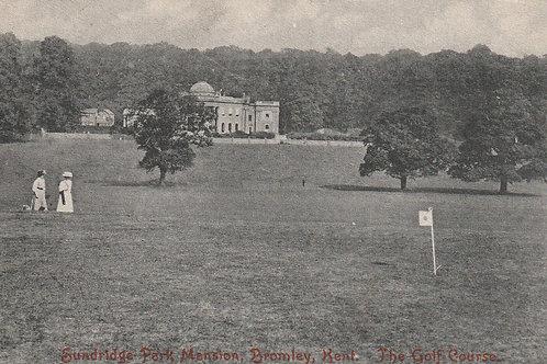 Sundridge Park Mansion & Golf Course C.pre 1908