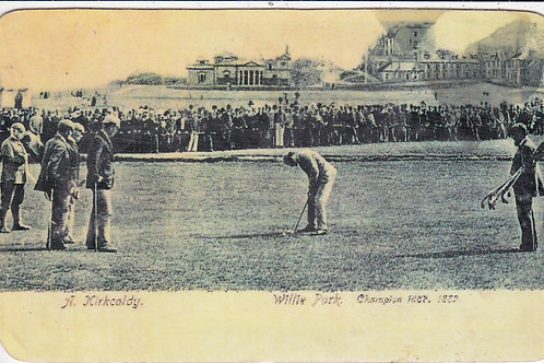 Willie Park v Andra Kirkcaldy Ref.598 C.1902-04