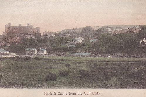 Harlech from the Links Ref.1804 C.1903-08