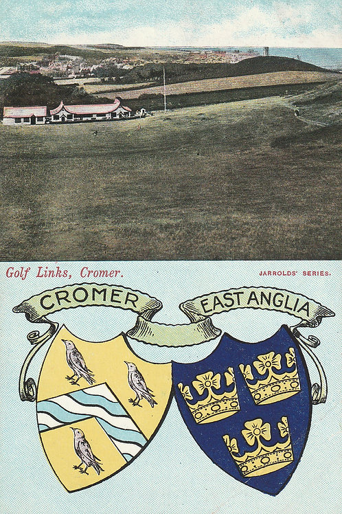 Cromer Golf Links C.pre 1910 Ref.2606