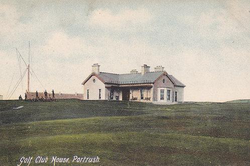 SOLD>Ref.499 Portrush Golf Club House C.Pre 1914 Ref.499