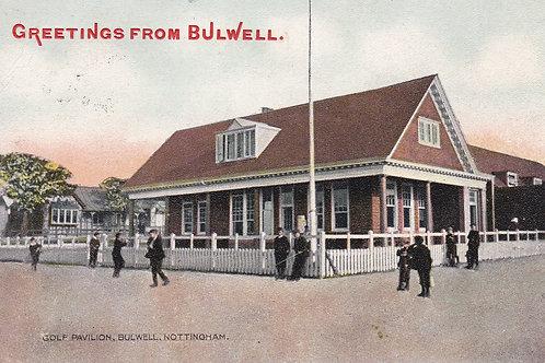 Bulwell Golf Pavilion Ref.2262a C.1908