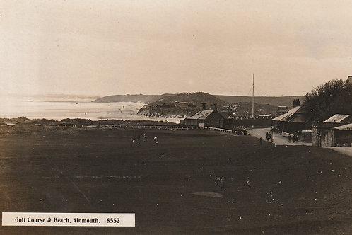 Alnmouth Golf Links,Beach & Pavilion Ref.2527