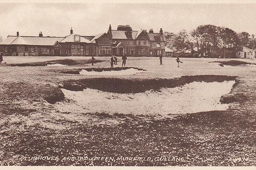 Muirfield Golf Links & Club House.Ref 807. C.1930s