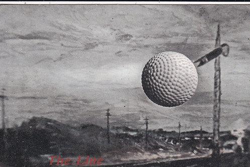 Golf Ball Ad card Line Guttie Ref.1536 C.1907
