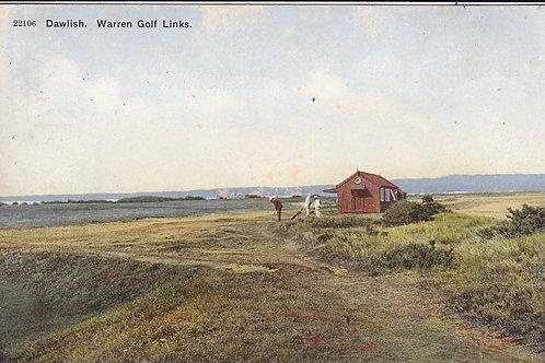 Warren Golf Links,Dawlish  Ref.1796 Pre 1914