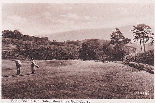 Gleneagles.Blink Bonnie 6th Hole Ref.989 C.1920s