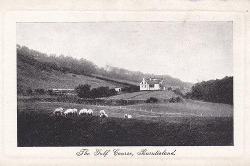 Burntisland Golf House & Links.Ref.647. C.1910-15