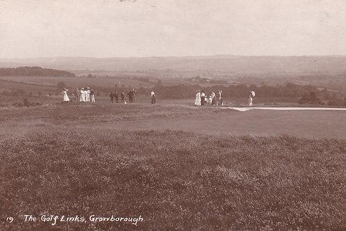 Crowborough Golf Links Match Ref.1940 C.Pre 1914