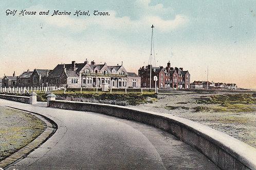 SOLD>Ref.1073.Troon Golf House & Marine Hotel  Ref 1073 C.1915