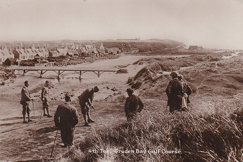 SOLD>Ref.2087a.Cruden Bay Golf Links C.Ea 1900s Ref.2078a