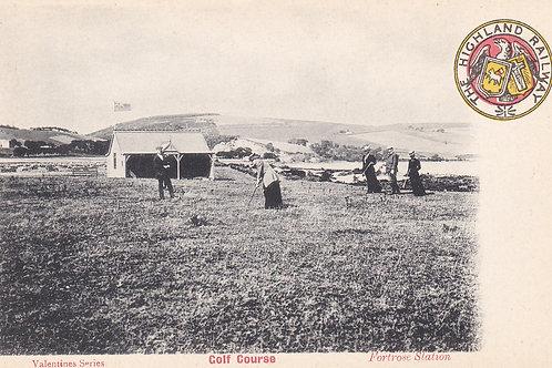 Fortrose Golf Links & Pavilion .Ref 702.C.1907