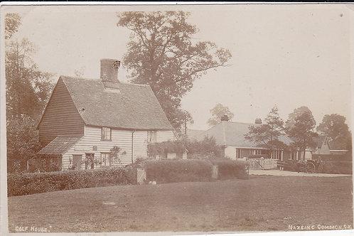Nazing Common Golf House Ref.1263 C.1920 RARE!