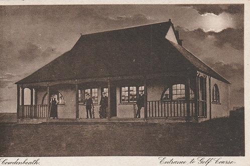 Cowdenbeath Golf Pavilion Ref.2421 C.Pre 1914