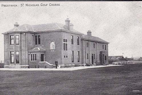 Prestwick St Nicholas Golf Club Ref 495 C.E.1900s