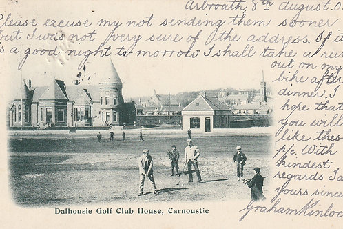 Dalhousie Golf Club House Ref.2647 C.1901