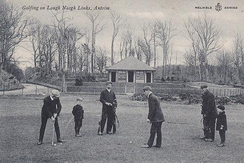 Lough Neagh Links,(Massereene)Ref 504.C.1905-10