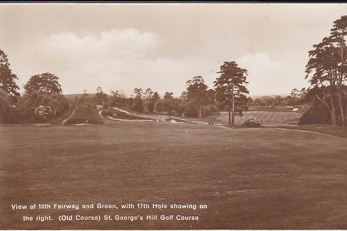 St Georges Hill Golf Course Ref.1583 C.1957