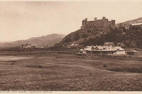 Harlech Golf Pavilion & Castle Ref.2312 C.1910-14