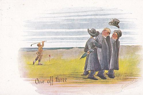 Comic Golf PC Cynicus Ref.1925 C.1902-04