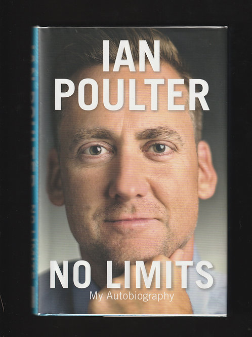 Ian Poulter Signed Autobiography Ref. GB 971