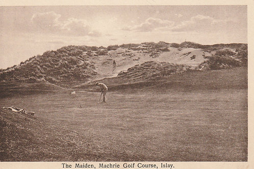 Machrie Golf Links Ref.2360 C.Ea 1900