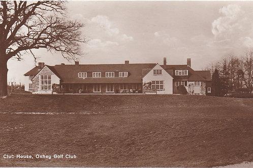 Oxhey Golf Club House Ref.1874 C.19