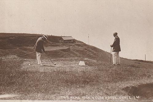 Chale Golf Links I.O.W Ref.2481 C.1905-10