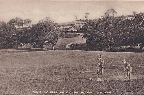 Lamlash Golf Links Ref.1886 C.1914-18