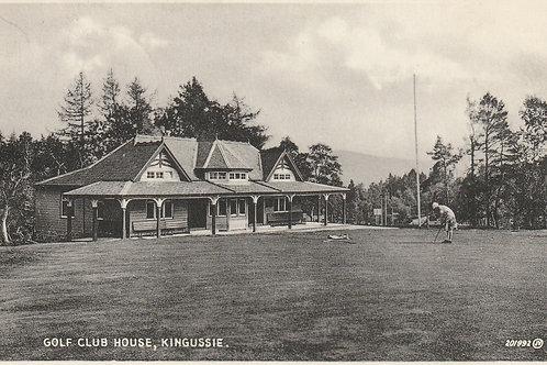 Kingussie Golf Pavilion Ref.2674 C.1930s