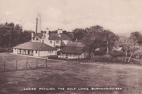 Burnham Ladies Golf Club House.Ref 626. C.1924
